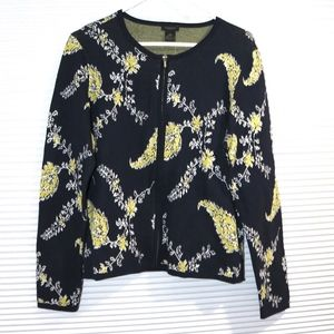 NWT Ann Taylor Factory sweater with zipper front